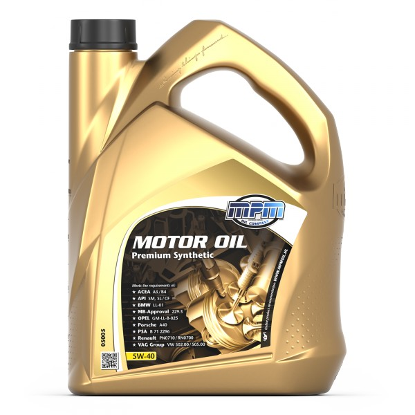 MPM Engine Oil - Engine Oil for Car Servicing
