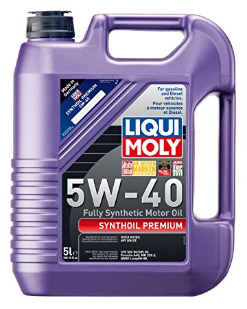 Liqui Moly Fully Synthetic Synthoil High Tech - Engine Oil for Car Servicing